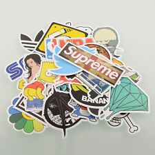 100 Pieces Stickers Skateboard Graffiti Laptop Luggage Bicycle Decals mix Cool
