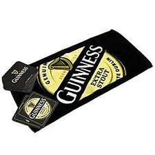 Guinness Bar Towel and 10 Beermats (sg)