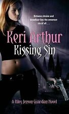 Kissing Sin  ((Riley Jenson Guardian)) Keri Arthur Excellent Book