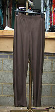Joseph Ribkoff BNWT 10 Magnificent Chocolate Brown Faux Suede & Jersey Trousers