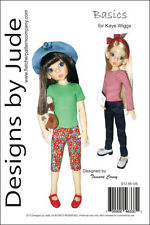 Basics Clothing Pattern for 46cm Kaye Wiggs Dolls MSD BJD