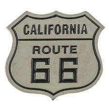Route 66 USA California Motorrad Biker Metall Button Badge Pin Anstecker 0719