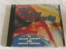 CD THE CRAZY RHYTHMS CHARLIE KENNEDY & CHARLIE VENTURA - 1992 NIPPON