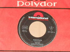 """THE WHO -Substitute- 7"""" 45"""
