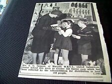 68-1  ephemera 1967 picture mrs e g samson margate wrvs salmestone junior school