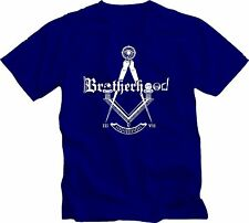 Masonic Mason Brotherhood T shirt Mason H. Abiff Shriner Scottish Rite F.&A.M.