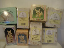 Precious Moments - Lot of 8, mint in boxes