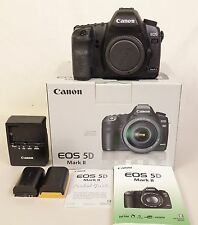CANON EOS 5D MARK II DIGITAL CAMERA BODY W/21MP FULL FRAME SENSOR-EX. IN OB!