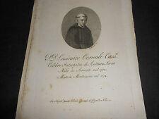1814 ACQUAFORTE CASIMIRO CORREALE DI SORRENTO INTERPRETE DI SCRITTURA SACRA