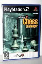 CHESS CHALLENGER GIOCO USATO OTTIMO STATO SONY PS2 EDIZIONE ITALIANA GS1