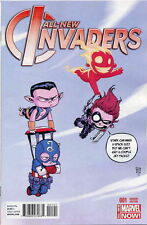 ALL-NEW INVADERS #1 YOUNG BABY VARIANT  NEAR MINT FIRST PRINT BAGGED & BOARDED
