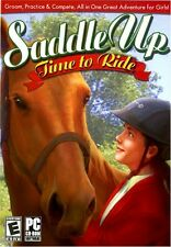 Saddle Up: Time to Ride -- Horse Pony Windows PC Computer Game -- Trusted Seller