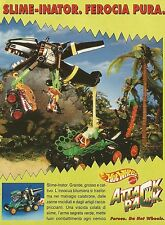 X4314 Hot Wheels Attack Pack - Slime Inator - Mattel - Pubblicità 1993 - Advert.