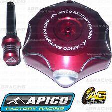 Apico Red Alloy Fuel Cap Breather Pipe For Honda CRF 450R 2011 Motocross Enduro