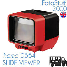 Hama slide viewer DB54 35mm diapositives grossissement de 3x à piles éclairage