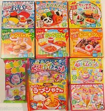 11 PCS Set Popin Cookin Happy Kitchen Kracie Cute Japanese DIY Candy Food Craft❤