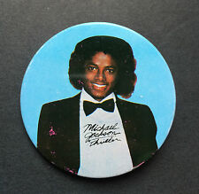 "Vintage 1980's MICHAEL JACKSON THRILLER Round Metal 2"" BUTTON PIN"