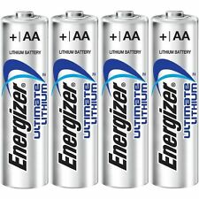 10 ENERGIZER AA ULTIMATE LITHIUM BATTERIES 4 DIGITAL CAMERA LOOSE IN A FLAT PACK
