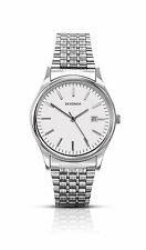 Sekonda Mens White Dial Silver Stainless Steel Bracelet Watch 1149 RRP £49.99