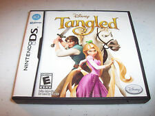 Tangled Nintendo DS Lite DSi XL 3DS 2DS w/Case & Manual