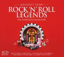 Greatest Ever Rock 'N' Roll Legends 3-CD Box Set NEW SEALED Bill Haley//Platters