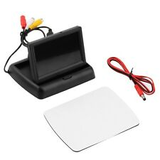 4.3'' LCD TFT Foldable Color Monitor Screen For Car Reverse Rearview Camera HS