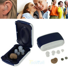 Small In The Ear Invisible Best Sound Amplifier Adjustable Hearing Aids Aid New