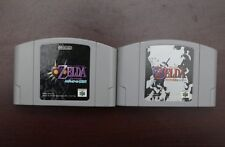 Nintendo 64 The Legend Of Zelda Ocarina of Time + Majora's Mask JP N64 US Seller