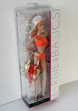 Barbie Basics Model Muse 07 7 Collection 003 Swimsuit Orang NRFB New Black Label