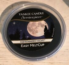 Yankee Candle Scenterpiece Easy Melt Cup Midsummers Night Candle New