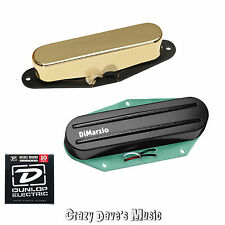 DiMarzio Chopper T & Twang King Neck Telecaster Pickup Set + Dunlop Med x2