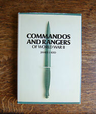 Commandos and Rangers of World War Two by James Ladd  1978