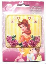 Disney Princess Belle Applique Iron-On Patch - NEW