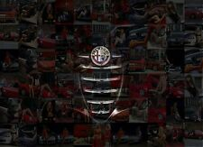 ALFA ROMEO photo mosaic cm. 30x41 poster with a lot of hot sexy GIRLS on ALFA