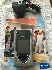 Nokia 7650 ON ORANGE HQ Rare (Good used Condition Own books pack & Accessories)