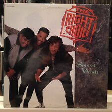 "SEALED 12""~The RIGHT CHOICE~Secret Wish~3:40~Long~4:53~Am I Losing You~4:38~'89"