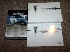 2008 Pontiac Grand Prix Owner User Guide Operator Manual GXP 3.8L 5.3L V6 V8