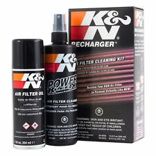 K&N Air Filter Cleaner olio Caricabatteria Kit di servizio K E N Power Kleen 99-5000eu