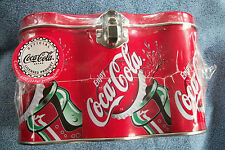 Six Pack Coca Cola Tin Can / Lunch Box Shrink Wrap Sealed Contains Jawbreakers
