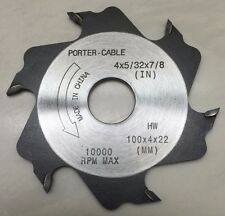 "PORTER CABLE 5558 / 5557, 4"" Plate Joiner Replacement Blade FREE SHIPPING *NEW*"