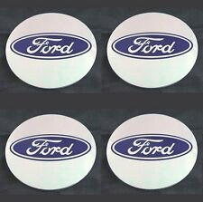 Ford 55mm WHEEL CENTER CAP EMBLEMS STICKERS DECALS Replacement