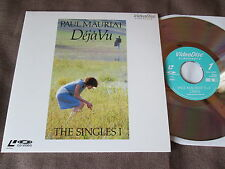 "PAUL MAURIAT Déjà Vu-The Singles 1 JAPAN 8"" Laser Disc w/PS VAL-3090 Free SH"