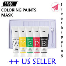 B&Soap Coloring Paints Pack Set (5 colors) - US SELLER""