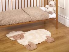 Flair Rugs Nursery Little Lamb Shaped Childrens Rug, Natural, 75 x 80 Cm
