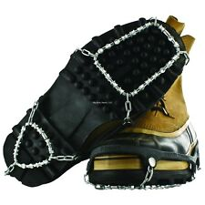 NEW Yaktrax Diamond Grip Black Size L Ice Fishing Creepers Cleats 08532