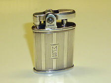 RONSON STERLING SILVER POCKET LIGHTER -U.S. PAT. RE. NO 19023 - MADE IN U.S.A. -