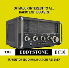 Eddystone EC10 - CD - HF Communications Receiver Shortwave Radio