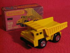 Matchbox Lesney Superfast Number 58 Faun Dump Truck (1976)