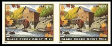US 4927a Glade Creek Grist Mill $5.75 imperf NDC horz pair MNH 2014