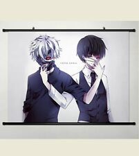 Wall Scroll Home Decor Tokyo Ghoul Ken Kaneki Japanese Anime Poster Halloween